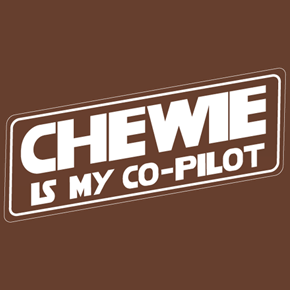 Chewie Is My Co-Pilot Shirt
