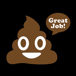 Great Job! Poop Emoji T-Shirt