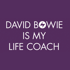 David Bowie Life Coach Shirt (Purple)