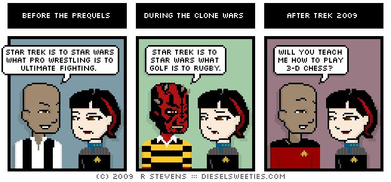 Trek Analogies : diesel sweeties comics archives