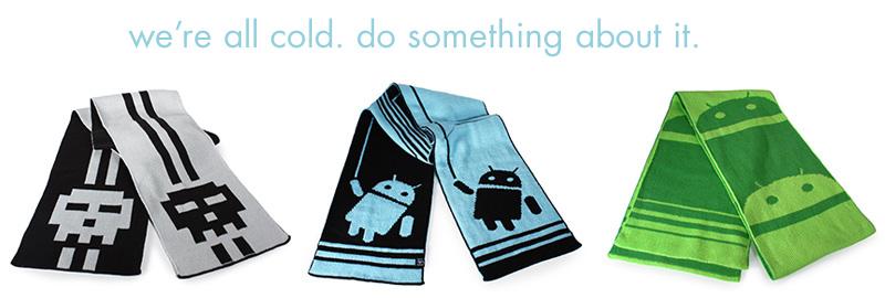 pixel scarves