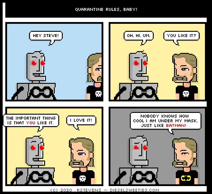 this is a diesel sweeties comic strip